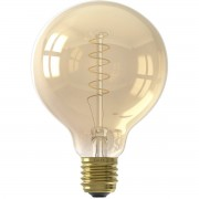 CALEX - LED Lamp - Globe - Filament G95 - E27 Fitting - Dimbaar - 4W - Warm Wit 2100K - Amber