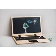 Ewart Woods Kids Chalkboard Wood Kids Blackboard Children Wood Computer Personalized Chalkboard Computer Persona
