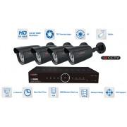 Kamerový system 4x AHD kamera 1080P s 20m IR a hybridní DVR