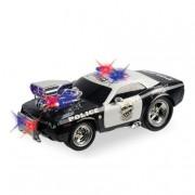 MONDO TOYS Hot Wheels - Coche de Policía Radio Control con Luces y Sonidos