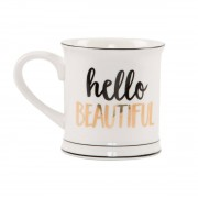 Sass & Belle Mugg 'Hello Beautiful'