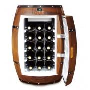 Chladnička na víno ve tvaru sudu 40L / 15 lahví