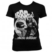 Arrrgh - Wrong Number Girly T-Shirt