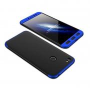GKK 360 Protection telefon tok hátlap tok Első és hátsó tok telefon tok hátlap az egész testet fedő Xiaomi redmi NOTE 5A Prime fekete-kék