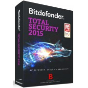 BitDefender Total Security (2015) 3 PC/User 1 Year Activation License Key