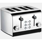 RGV TOAST EXPRESS 4 4fetta/e 1600W Acciaio inossidabile tostapane
