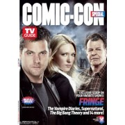 tv guide Comic con 2012 magazine Tv Guide special comic con Fringe flip cover
