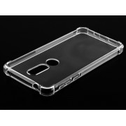 Gel Case with Bumper Edges for Nokia 7.1 - Nokia Soft Cover (Clear)
