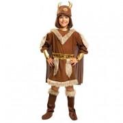 Viving Costumes S.L Disfarce InfantilRapariga Viking 7-9 anos