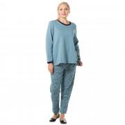 Carole Hochman Completo maglia e pantaloni in felpa leggera (2 pz)