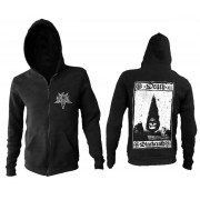kapucnis pulóver férfi - Death Card - BLACK CRAFT - ZS036DD