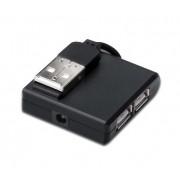 HUB USB 2.0 4 PUERTOS SIN ALIMENTACION DIGITUS