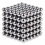 Neocube (216 balls,5mm) Sølv