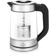 Maxstar EK01 Aqua Electric Kettle(1.7 L, Black and Silver)