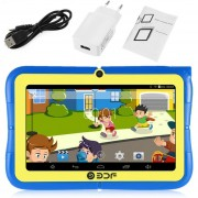ER Pantalla De 7 Pulgadas A 1,3 Ghz De Núcleo Cuádruple De Brazo Para Android Wifi Mini Tablet PC Para Niños -Blule