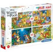 Puzzle 4 in 1 Winnie the Pooh Clementoni 160 piese