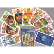 Jeu De Famille (Quartet) Disney, Les Amis Animaux De Disney ( Disney Animal Friends)