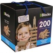BBlocks Building Planks 200 pcs Brown Wood BBLO890101