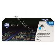 Тонер HP 121A за 1500/2500, Cyan (4K), p/n C9701A - Оригинален HP консуматив - тонер касета