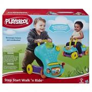 Hasbro Playskool 2-in-1 Sturdy Stable Step Start Walk N Ride
