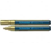 Marker cu vopsea Schneider Maxx 270, scriere de 1 - 3 mm, auriu