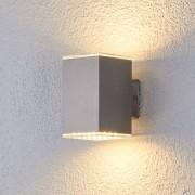 Lampenwelt.com Double sided shining LED wall light Lydia