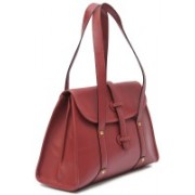WestHide RED DESIGNER LEATHER HANDBAG Red Shoulder Bag