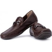 Clarks Rengo Roll Loafers For Men(Brown)