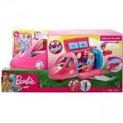 Игрален комплект Barbie - Барби на път, самолет, 1710154