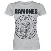 Ramones Seal Damen-T-Shirt - Offizielles Merchandise S, M, L, XL Damen