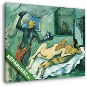 Paul Cézanne: Délután Nápolyban (néger szolgálóval), 1876-1877 (30x25 cm, Vászonkép )