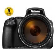 Nikon Cámara Bridge NIKON P1000 (Negro - 16 MP - ISO: 100 a 1600 - Zoom Óptico: 125x)