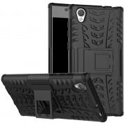 Capa Híbrida Antiderrapante para Sony Xperia L1 - Preto