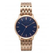 Renard Horloges Elite Ocean Blue Rose Gold 35.5 Roségoudkleurig