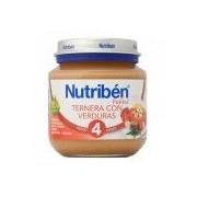 NUTRIBÉN Potito Ternera Verduras 130g 4m+ Nutriben - Nutribén