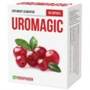 Uromagic cu extract de merisor 30cps PARAPHARM