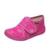 Dětská obuv domácí růžová s.z, bačkůrky Fare