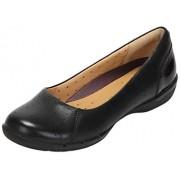 Clarks Women's Un Hearth Black Leather Fashion Sandals - 3.5 UK/India (36 EU)