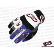 Handschoen Type: 4010 MX Kleur: Wit Blauw Maat: XXL