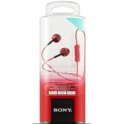 Auricular Sony MDREX110APR.CE7 Color Rojo 9MM 100 DB
