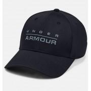Under Armour Men's UA Wordmark Stretch Fit Cap Black S/M