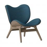 UMAGE Salonní křeslo A Conversation Piece tmavý dub, 5 barev - UMAGE Barva: petrolejově modrá