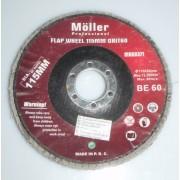 Disc pentru slefuit cu lamele 115 mm