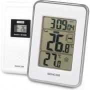 Statie meteo Sencor SWS 25 WS, Afisaj LCD, Alb