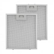Acessórios - 2 Filtros de Substituição Anti Gordura em Alumínio 25,8 x 29,8 cm