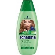 Sampon SCHAUMA 7 Herbs 400 ml cu Extract de Plante pentru Par Gras