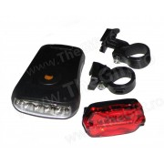 Far si stop bicicleta cu LED-uri, Beam