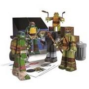 Jucarie Teenage Mutant Ninja Turtle Papercraft Team
