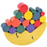 Yeefant Wooden Moon Stacked Balance Stacking Jenga Toys Babies Early Learning Parenting Games
