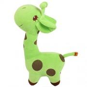 Anbau Cute Giraffe Soft Plush Toy Kids Stuffed Animal Gift - Green